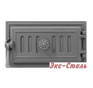 Дверца поддувальная Везувий 236 140х275мм (антрацит)