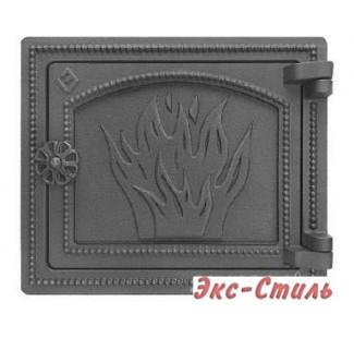 Дверка печная Везувий ДТ-3 (антрацит)