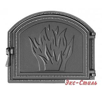 Дверь каминная Везувий 218 (антрацит)