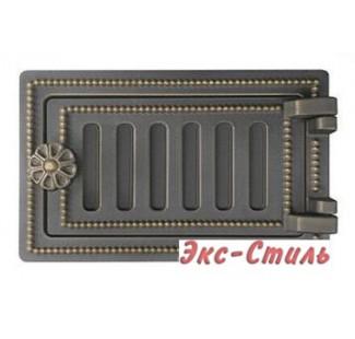 Дверца поддувальная Везувий ДП-2 140х250 (бронза)
