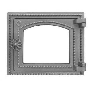 Дверка печная Везувий ДТ-3С (не крашенная, без стекла)