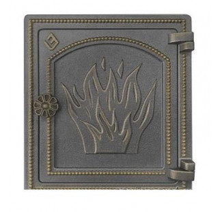 Дверка печная Везувий ДТ-4 (бронза)