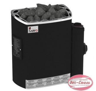 Электрическая печь  Sawo Mini MN-36NB-P-F настенная, с пультом, 3,6 кВт, нерж. сталь, фибропокрытие