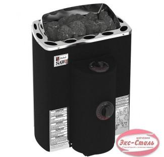 Электрическая печь  Sawo Mini X MX-36NB-P-F настенная, с пультом, 3,6 кВт, нерж. сталь, фибропокрытие