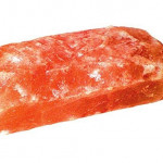 Гималайская соль плитка 20х10х2,5 см  фактурная