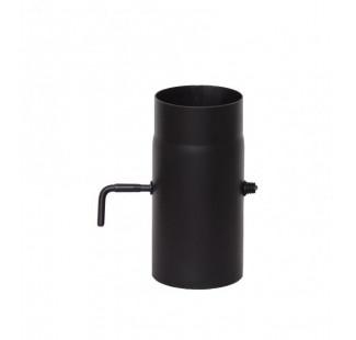 Шибер  чёрная сталь 2 мм, Ø 120 мм