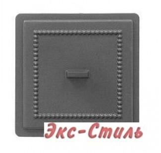 Дверца прочистная Везувий 237 130х130мм  (антрацит)