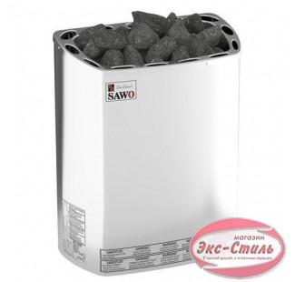Электрическая печь  Sawo Mini X MX-36NS-Z настенная, без пульта, без блока мощности, 3,6 кВт, оцинк. сталь / нерж. cталь