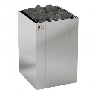 Электрическая печь Sawo Nordex floor NRFS-120NS-Z напольная, без пульта, без блока мощности, 12,0 кВт, оцинк. сталь / нерж. сталь