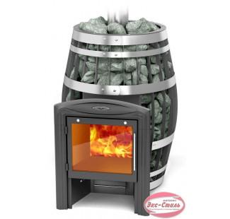 Дровяная печь TMF Термофор Саяны 2015 XXL Витра Carbon