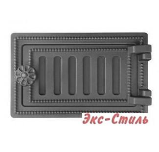 Дверца поддувальная Везувий ДП-2 140х250 (антрацит)
