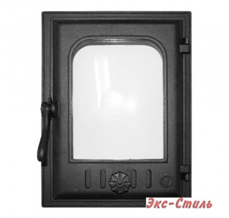 K403 Дверца топочная стекло 250х350мм 10,3кг