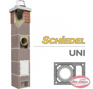 Керамический дымоход Schiedel UNI одноходовой с вент. каналом