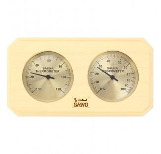 SAWO Термогигрометр 221-THA, осина