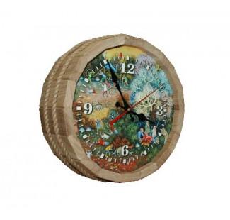 Часы БОЧКА