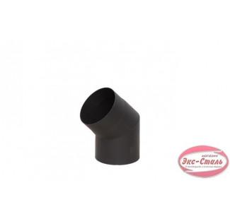 Отвод 45°  чёрная сталь 2 мм, Ø 200 мм