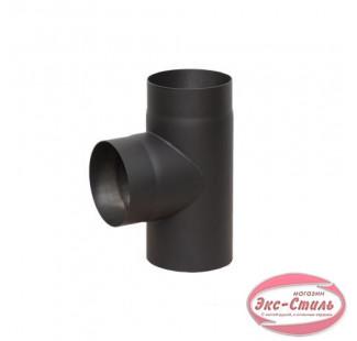 Тройник 90° чёрная сталь 2 мм, Ø 150 мм