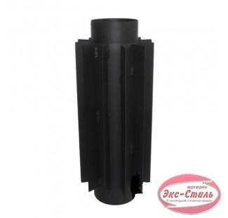 Радиатор 0.5м чёрная сталь 2 мм, Ø 120 мм