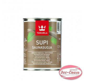 Лак для сауны Tikkurila Supi Saunasuoja Супи Саунасуоя  0,9л
