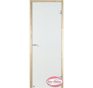 Дверь HARVIA SТG 7х19 сосна/сатин D71905M