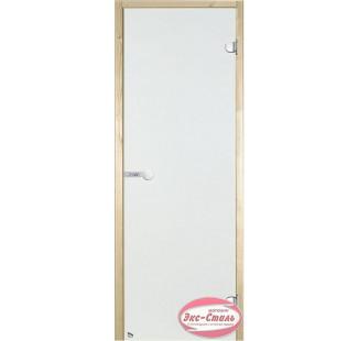 Дверь HARVIA SТG 8х19 сосна/сатин D81905M