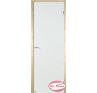 Дверь HARVIA SТG 9х19 ольха/сатин D91905L