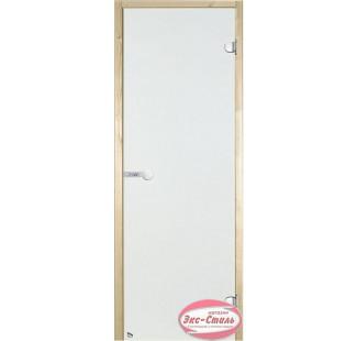 Дверь HARVIA SТG 9х19 сосна/сатин D91205М