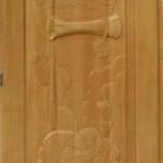 Дверь кавказская липа с петлями Указ