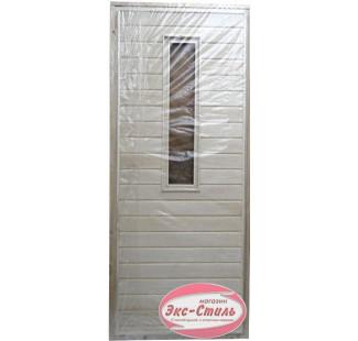 Дверь осина малая со стеклом без петель (1750х720мм, 1800х700мм)