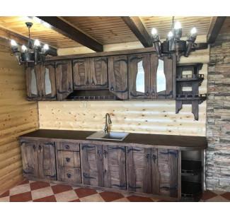 Мебель для кухни, состаренная под старину